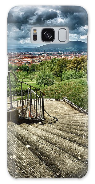 Firenze From The Boboli Gardens Galaxy Case