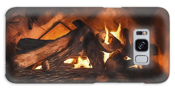 Fireplace  ... Galaxy Case by Chuck Caramella