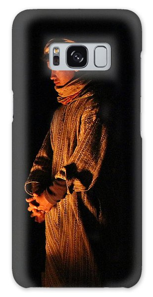 Galaxy Case featuring the photograph Fireside by Ramona Johnston