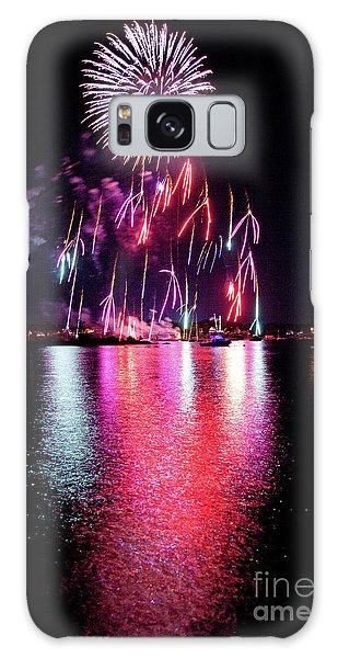 Fireworks 1 Galaxy Case by Butch Lombardi