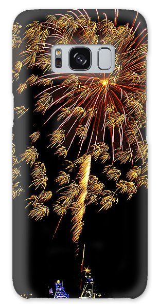 Galaxy Case featuring the photograph Fireworks 10 by Bill Barber