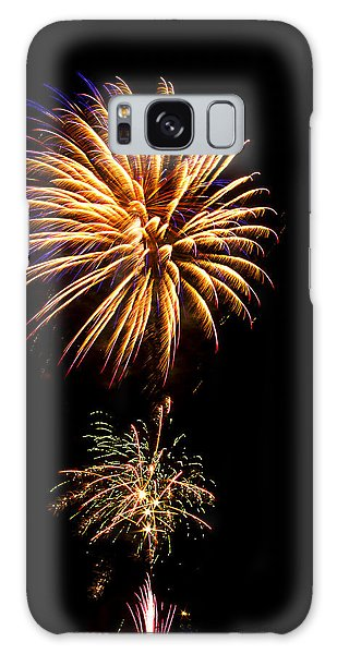 Galaxy Case featuring the photograph Fireworks 4 by Bill Barber