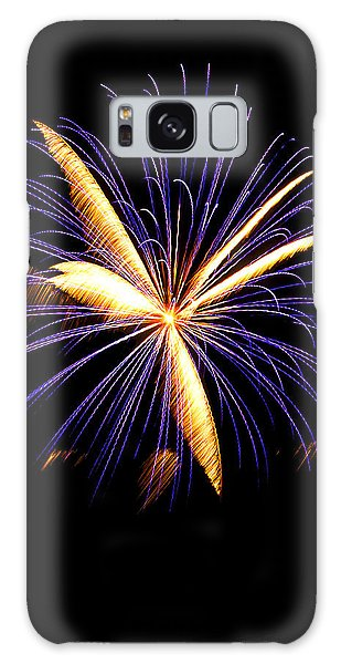 Galaxy Case featuring the photograph Fireworks 6 by Bill Barber