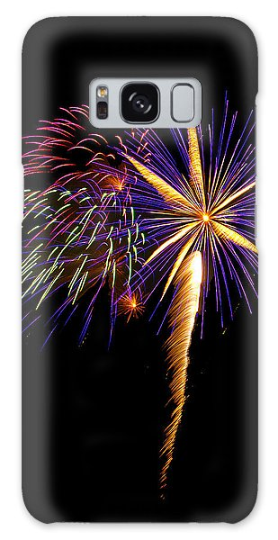 Galaxy Case featuring the photograph Fireworks 8 by Bill Barber