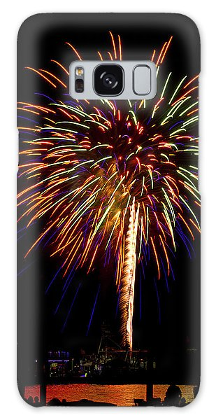 Galaxy Case featuring the photograph Fireworks by Bill Barber