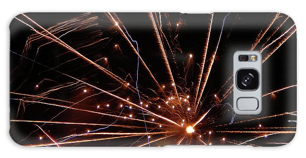 Galaxy Case featuring the photograph Fireworks Blast #0703 by Barbara Tristan