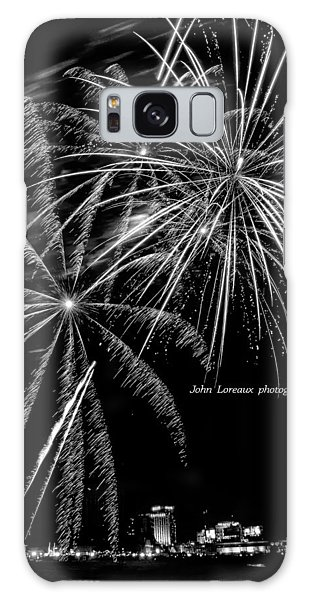 Fireworks Bw Galaxy Case