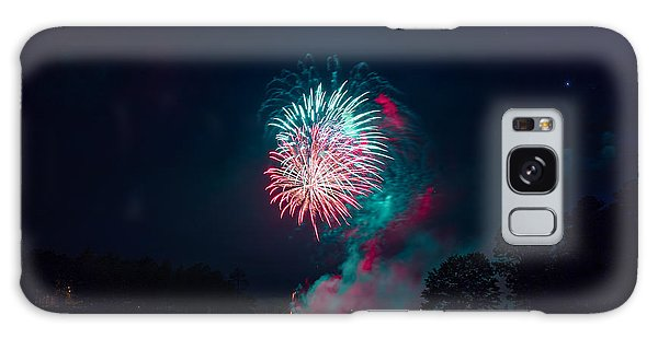 Fireworks In The Country Galaxy Case