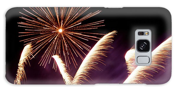 Fireworks In The Night Galaxy Case