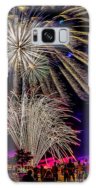 Fireworks In The Park Galaxy Case