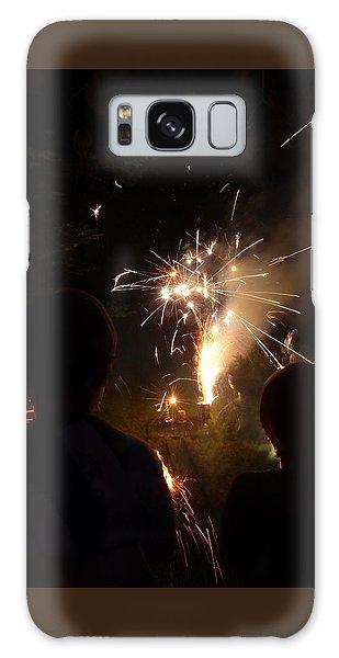 Fireworks Galaxy Case by Margie Avellino