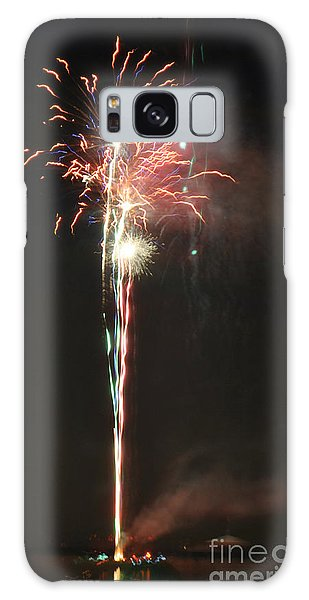 Fireworks On The Lake Galaxy Case
