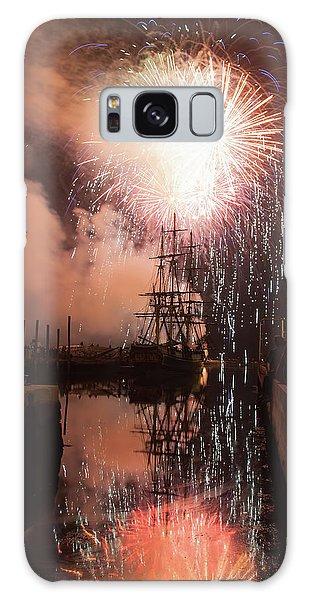 Fireworks Rain Down On Salems Friendship Galaxy Case
