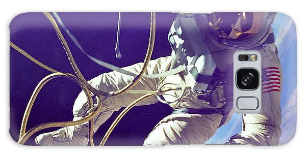 Astronaut Galaxy Case - First American Walking In Space, Edward by Nasa
