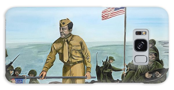 First Flag Raising Iwo Jima Galaxy Case