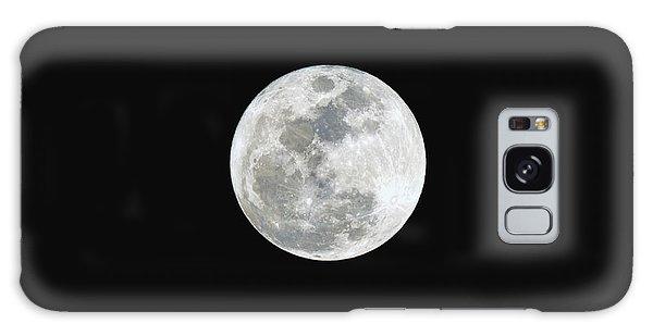 First Full Moon Of 2016 Galaxy Case by Eddie Yerkish