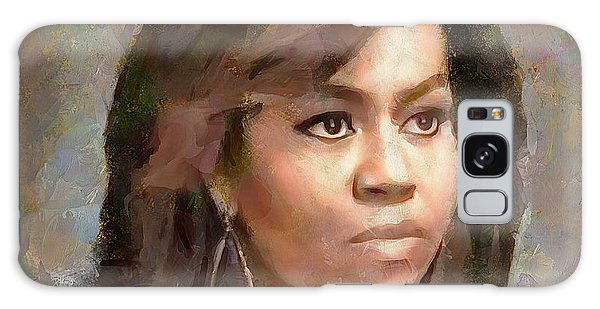 First Lady Michelle Obama Galaxy Case