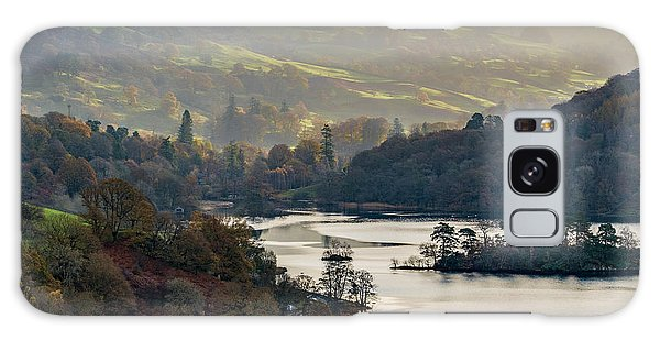 First Light Over Rydal Water In The Lake District Galaxy Case