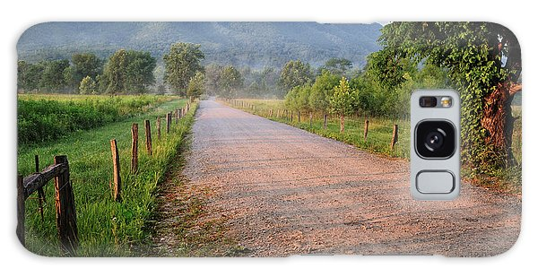 First Light - Sparks Lane At Cades Cove Tennessee Galaxy Case