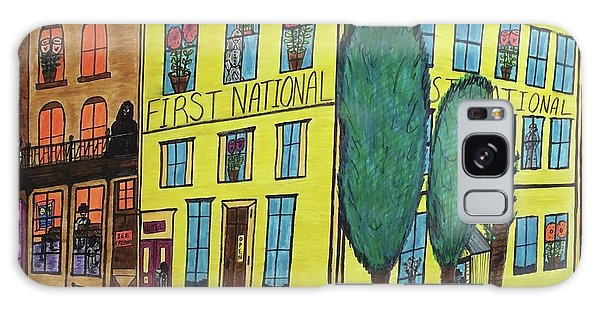First National Hotel. Historic Menominee Art. Galaxy Case