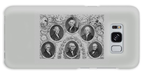 First Six U.s. Presidents Galaxy Case