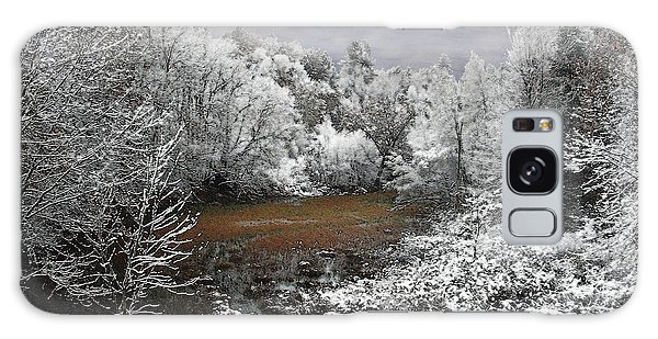 First Snow On An Oxbow Galaxy Case