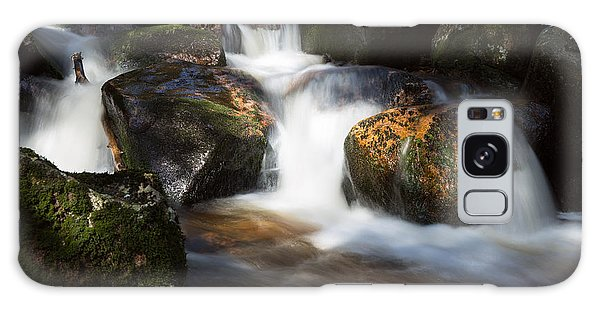 first spring sunlight on the Warme Bode, Harz Galaxy Case