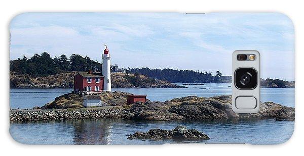 Fisgard Lighthouse Shoreline Galaxy Case