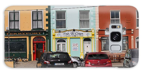 Fish And Chips 4136 Galaxy Case
