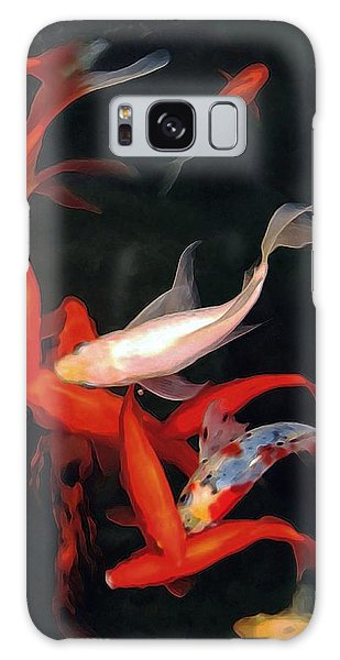 Fish Ballet Galaxy Case by Dale   Ford
