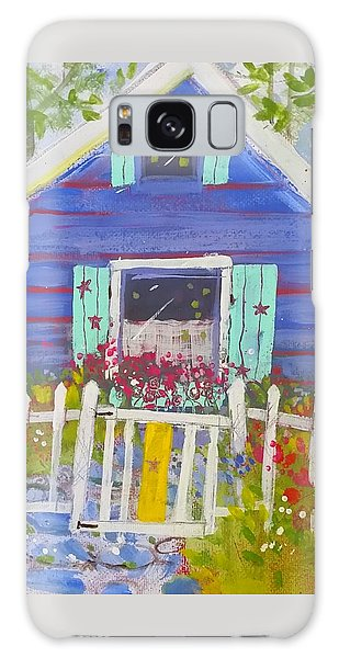 Fish Camp Cottage Galaxy Case