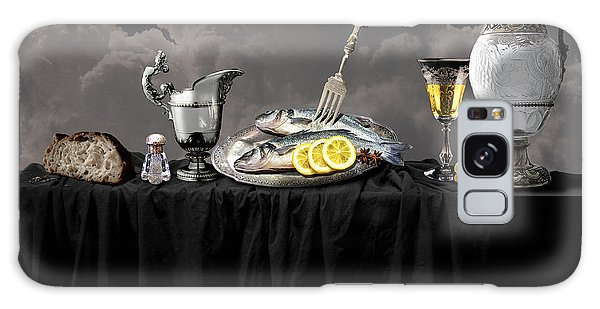 Fish Diner In Silver Galaxy Case