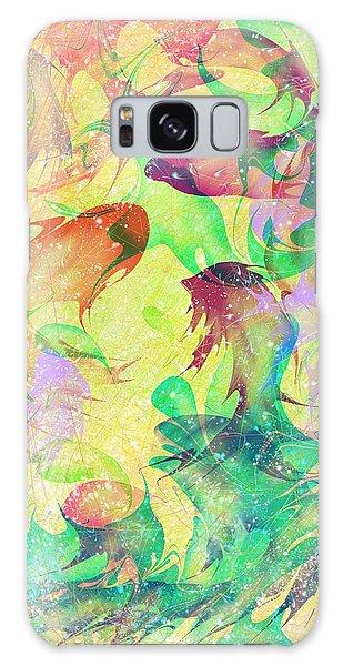 Fish Galaxy S8 Case - Fish Dreams by Rachel Christine Nowicki
