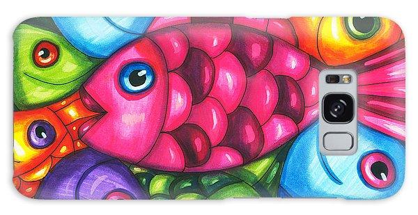 Fish Friends Galaxy Case