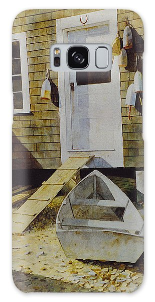 Fish House Monhegan Galaxy Case