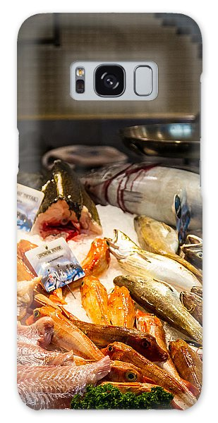 Galaxy Case featuring the photograph Fish Market by Jason Smith