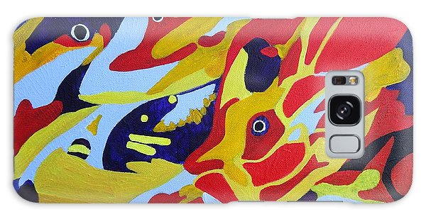 Fish Shoal Abstract 2 Galaxy Case