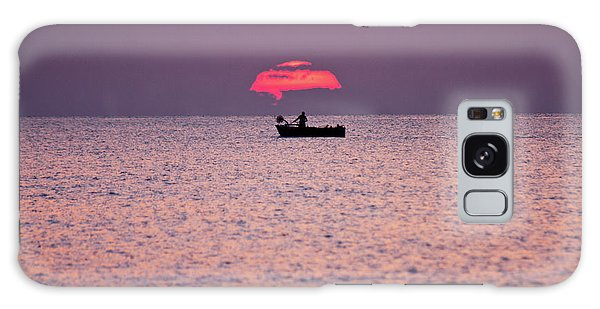 Fisherman Galaxy Case