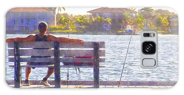 Fisherman Pass A Grille Florida Galaxy Case by Glenn Gemmell
