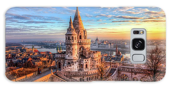 Fisherman's Bastion In Budapest Galaxy Case by Shawn Everhart