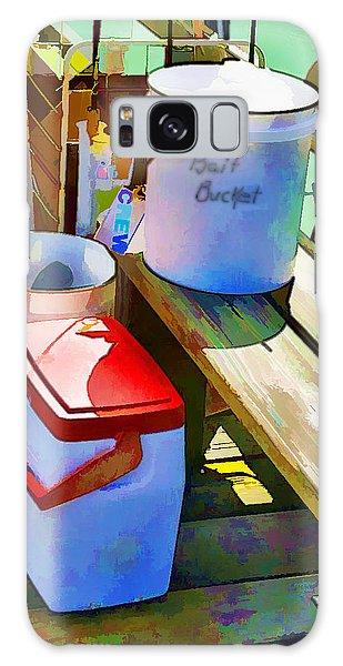 Fisherman's Buckets Galaxy Case by Rena Trepanier