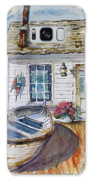 Fisherman's Cottage Galaxy Case