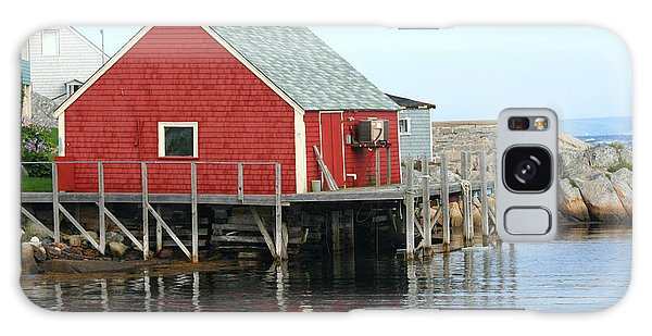 Fishermans House On Peggys Cove Galaxy Case