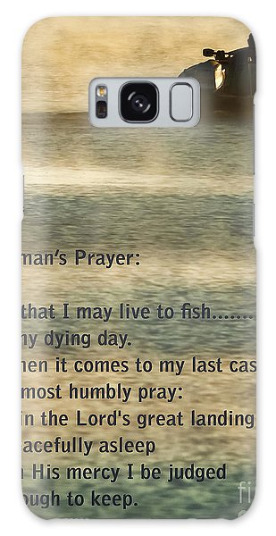 West Bay Galaxy Case - Fisherman's Prayer by Robert Frederick