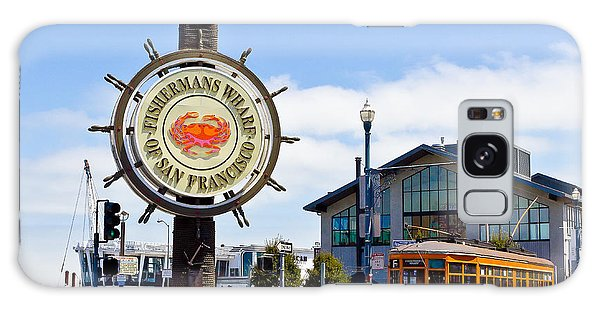 Fishermans Wharf - San Francisco Galaxy Case