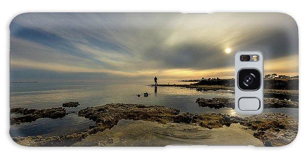 Contour Galaxy Case - Fisherman's Zen  by Stelios Kleanthous