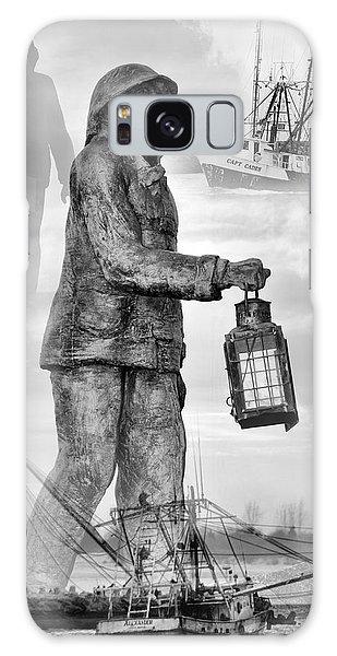 Fishermen - Jersey Shore Galaxy Case
