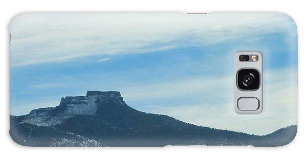 Fishers Peak Raton Mesa In Snow Galaxy Case