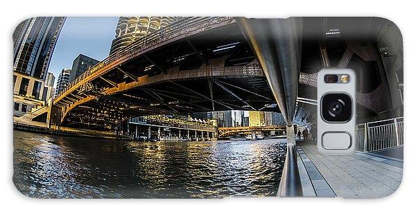 Fisheye View From The Chicago Riverwalk Galaxy Case
