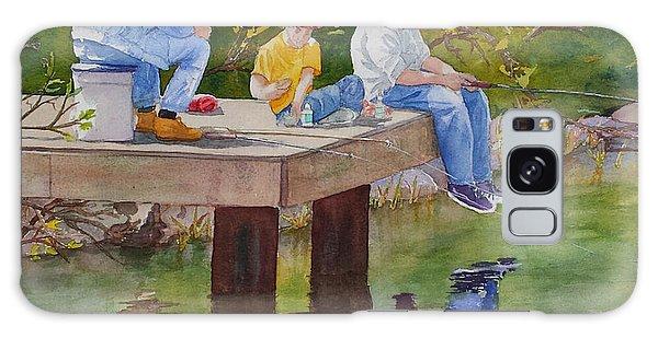 Fishin' Galaxy Case by Judy Mercer
